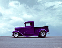 Purple Hot Rod #10-35