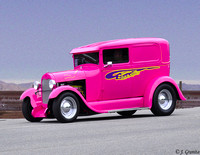 Pink Hot Rod #10-22